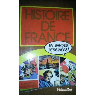 Lot De 4 Livres Histoire De France En Bd