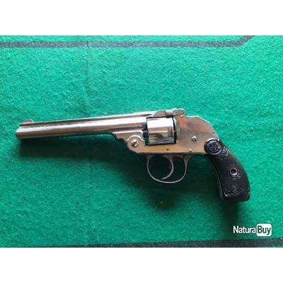 Revolver  Iver Johnson  - Cal- 32 S&W  canon long