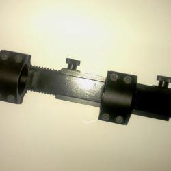 68762b5314f84b Collier Acier pour Lunette De Nuit Diametre 25.4 mm (1  ) - Montages ...