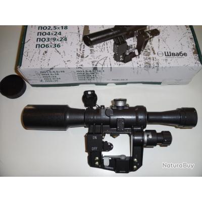 ZASTAVA M76/M70   lunette de tir russe PO 6X36