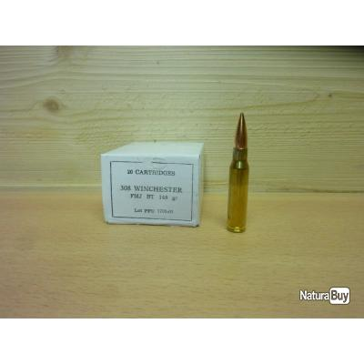 1000 munitions 308 - Partizan 145 grains