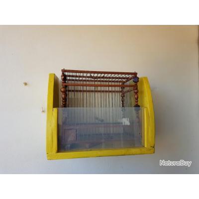 cage de chant en bois et fer 4