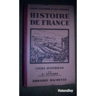 Livre Ancien D Histoire De France Cours Superieur