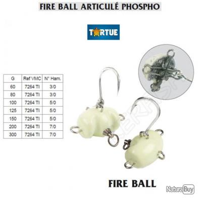 FIRE BALL ARTICULÉ PHOSPHO TORTUE 80 g