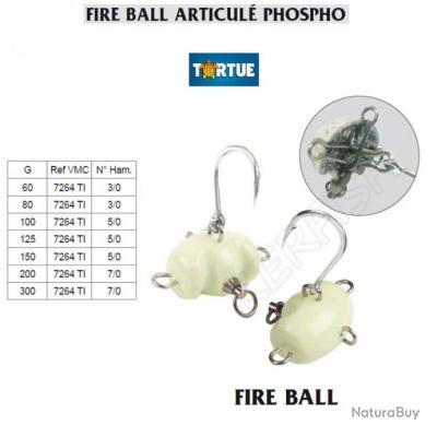 FIRE BALL ARTICULÉ PHOSPHO TORTUE 150 g