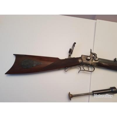 Carabine WESSON  complète calibre 45 PN  tres belle très précise