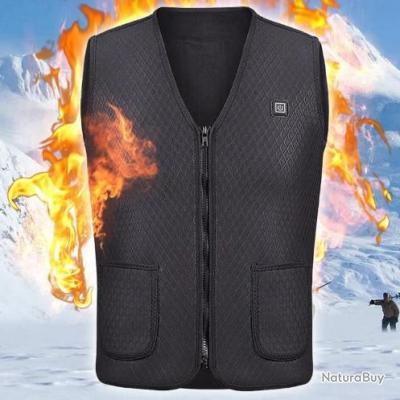 Veste chauffante Thermique