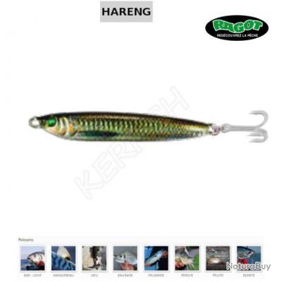 CUILLER HARENG RAGOT 25 g Shad