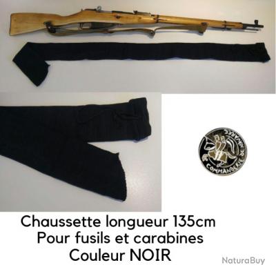 CHAUSSETTE POUR FUSIL - Couleur NOIR