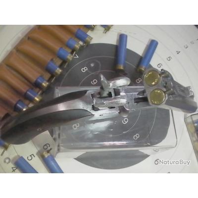 pistolet 14 mm double canon juxtaposés en table  bradé a saisir!!!!!