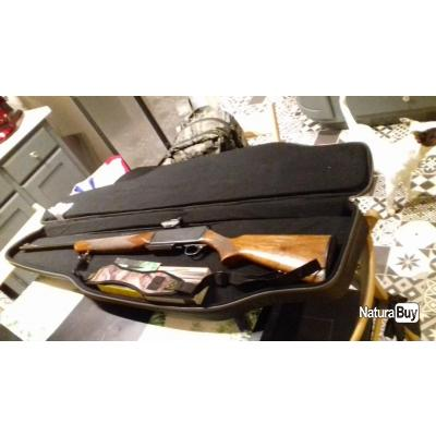 Vend carabine browning bar calibre 300w avec point rouge bushnell trs25, housse et cartouches