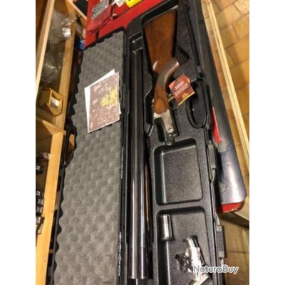 Enchère 1 euro destockage  fusil Akkar 512 calibre 12 neuf