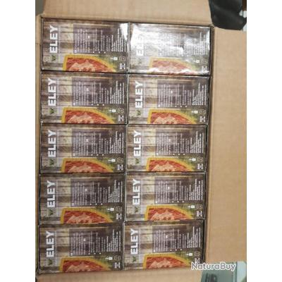 Offre de lancement 250 cartouches ELEY ALPHAMAX + 36 g BJ 12/70 Pb5 à 1€ sans prix de réserve