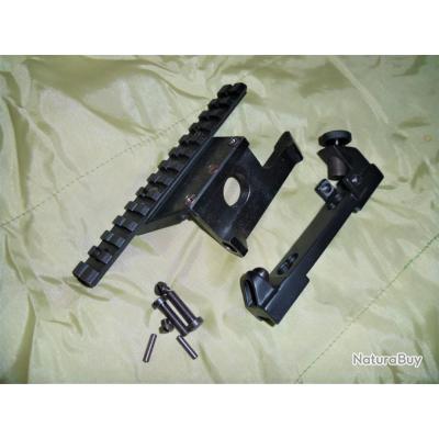 montage lunette  Mosin Nagant Sniper  avec rail latéral