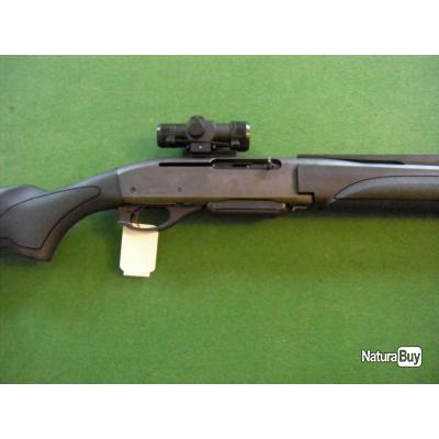 CARABINE REMINGTON 750 CALIBRE 280 REMINGTON CANON DE 46CM AVEC VISEUR POINT ROUGE