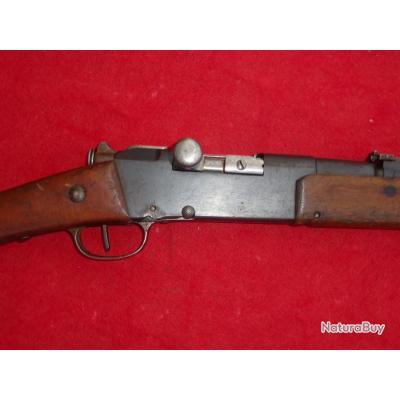 Fusil Lebel modèle 1886/93 Manufacture de Tulle calibre d'origine  8mm.