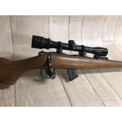 Carabine BRNO MODÈLE 2 calibre 22LR + lunette KASSNAR X4
