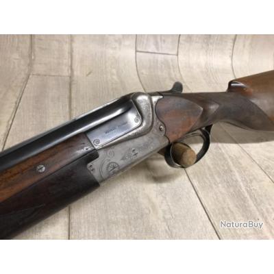 Fusil superposé MERKEL FRÈRES calibre 12/70 éjecteurs automatiques