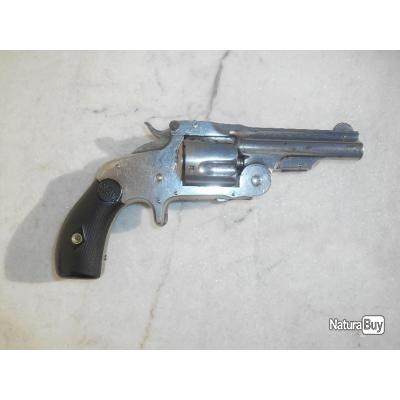 RARE ET VERITABLE SMITH WESSON  BABY RUSSIAN   en calibre 38. SW OU .38 COLT