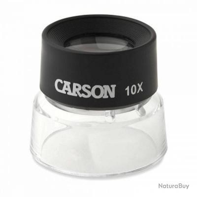 CARSON MagniFlip Loupe de poche Grossissement x10