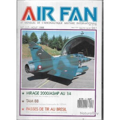 air fan n°117 . revue de l'aviation , otan, aviation brésil, mirage 2000