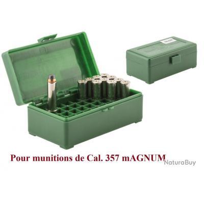 Boite pour 50 cartouches  357 Magnum