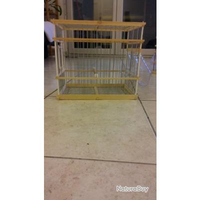 Cage de chant en bois