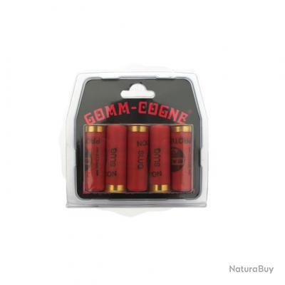 10 boites CARTOUCHES GOMME COGNE CAL 16 BALLES PRIX CHOC !!!