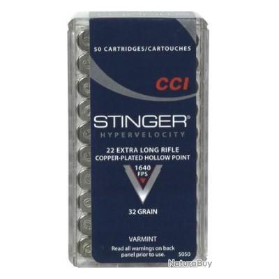 500 Munitions CCI 22LR STINGER