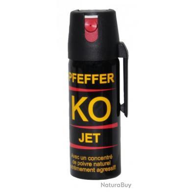 ( KO JET Poivre - 50 ml)Aérosols gel poivre KO Jet Pfeffer
