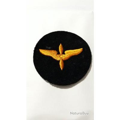 Rare Patch armée us AIR CADET NOIR FEUTRE WW2 ORIGINAL