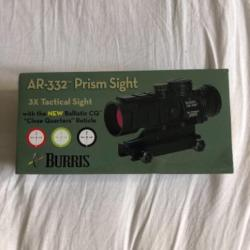 Ar 132 Red Dot Sight Burris Neuf Points Rouges Tubulaires 4826132