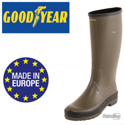 BOTTE GOOD YEAR REF ALROAD 3000  TAILLE 47 SOLDE A 30 EUROS