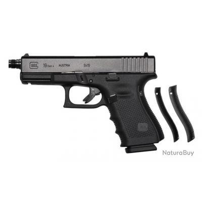 Pistolet Glock 19 Gen4 fileté 9x19 neuf!