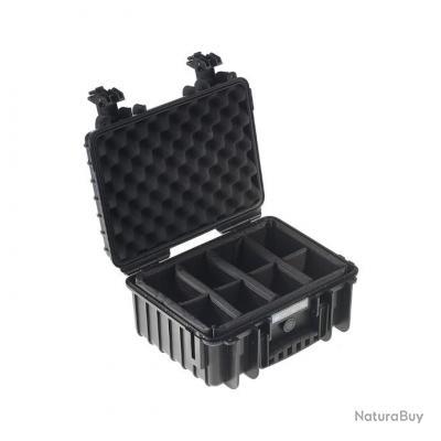 B&W international valise Type 3000 Noire Intérieur RPD