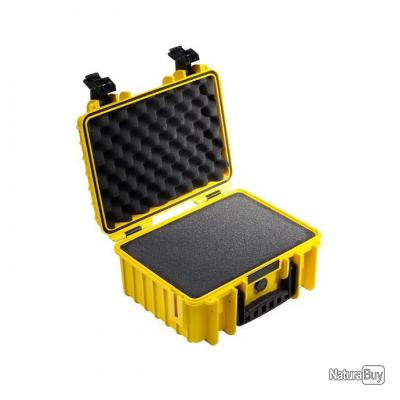B&W international valise Type 3000 Jaune Intérieur mousse