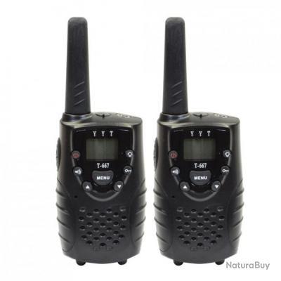 Set de 2 talkies-walkies Longue Portée