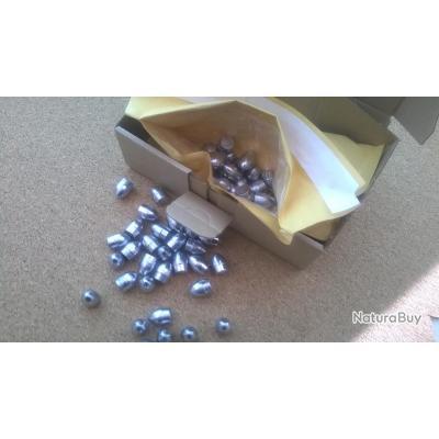 """6 Ogives type """"Elam O.Potter"""" Calibre 44 révolver poudre noire idéal avec ou sans étui papier"""