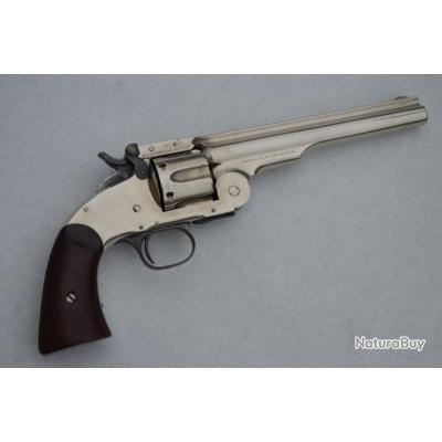REVOLVER SCHOFIELD 1878 Militaire 7pouces Calibre 45 Smith & Wesson - US XIXè U.S.A. XIX eme Civil N