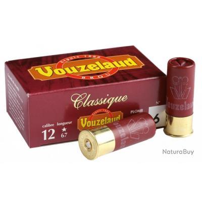 ( VOUZELAUD - Classique Grand CULOT)Cartouches Vouzelaud - Classique grand culot - Cal. 12/67