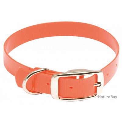 ( Collier Hiflex - Longueur 55 cm)Collier pour chien Hiflex orange fluo - Country