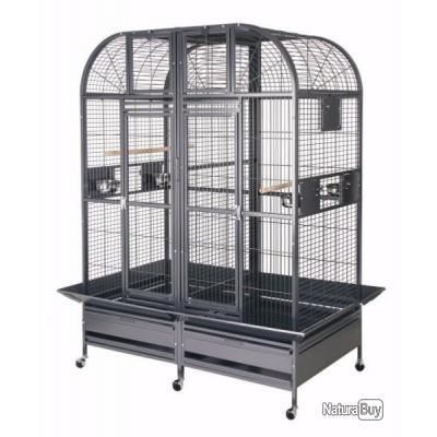 Cage perroquet DOUBLE cage gris gabon cage amazone cage youyou gris du gabon cage ARA cacatoes XXL