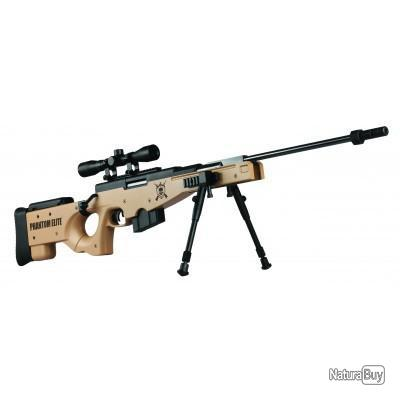 Carabine à plomb Phantom Elite cal 4.5mm 19.9J
