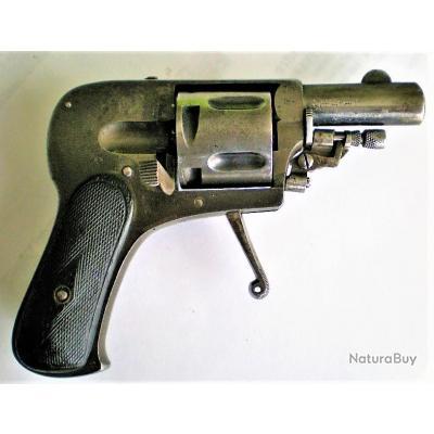 REVOLVER BOSSU Type Hammerless 7.65