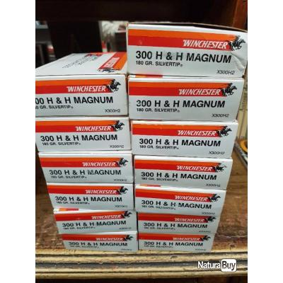 Cartouches 300 Holland&Holland Magnum