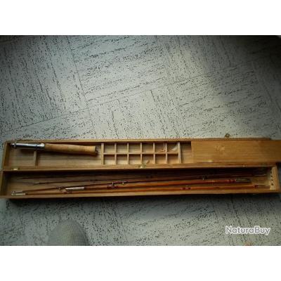 Canne bambou refendu