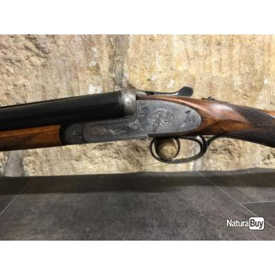 Fusil juxtaposé calibre 16 à platines SARASQUETA