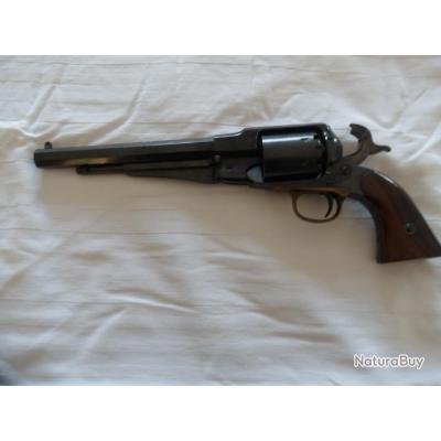 Revolver poudre noire réplique  Remington 1858 laiton Cal 44