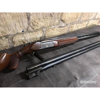 Fusil de Trap KROMSON calibre 12/70 deux canons