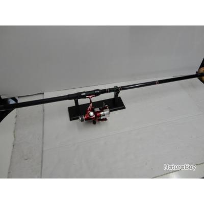 N2356-ENSEMBLE MITCHELL- CANNE TELESCOPIQUE 3 M 30 + MOULINET - NEUF